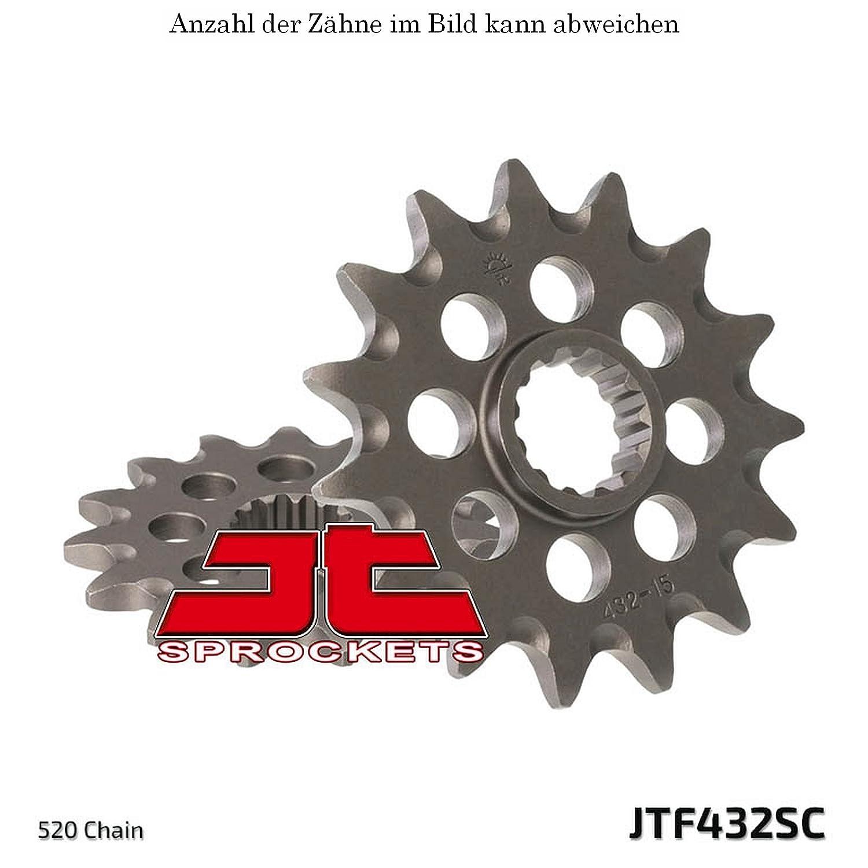 jt Sprockets Ritzel 13 Z/ähne DR-Z 400 E 2000-2007 JTF432.13SC