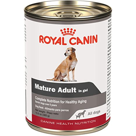 Royal Canin Canine Health Nutrition Mature Adult In Gel Canned Dog Food (Case Of 12