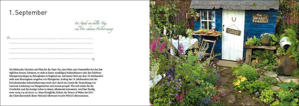 365 Tage englisches Gartenglück: Gartentagebuch und Reise ver führer ...