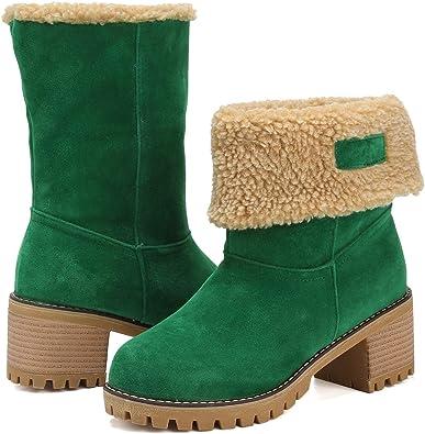 DOTACOKO Women Cute Warm Short Boots