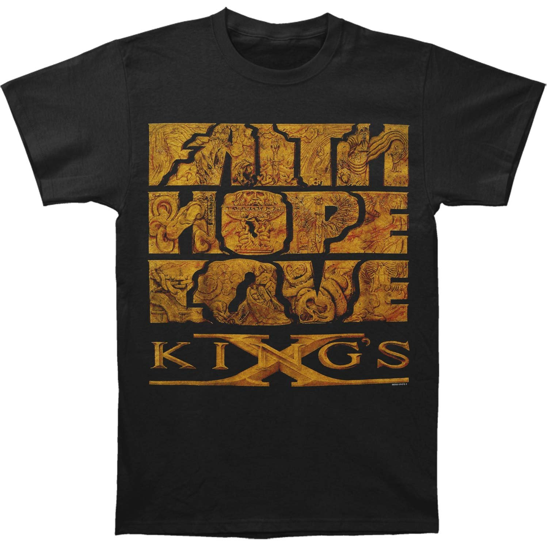 Kings X Men's Faith Hope Love T-shirt XX-Large Black