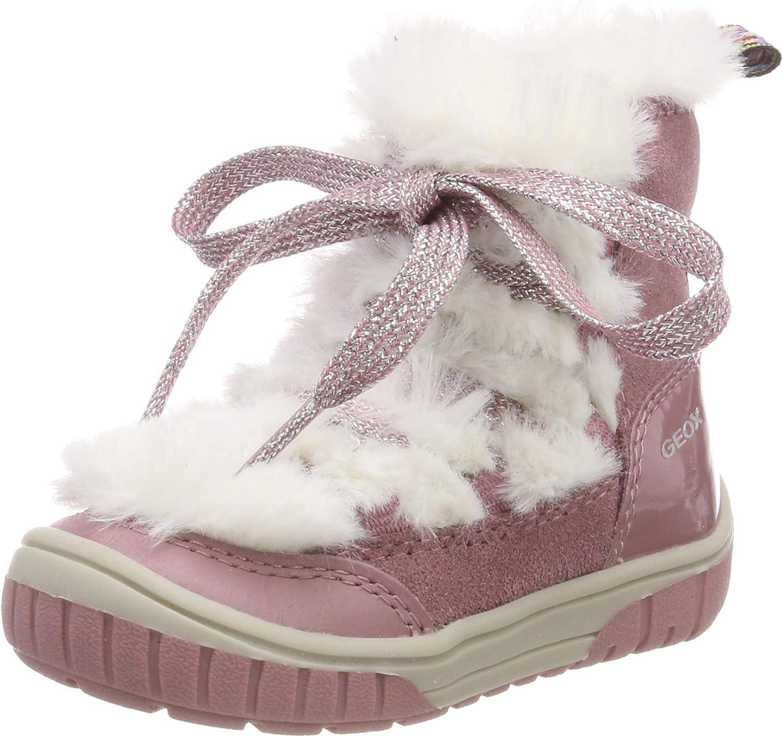 regular interfaz Monasterio  Zapatos para bebé Geox B Omar Girl A Botas Bebé-Niñas Zapatos y  complementos saconnects.org