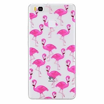 huawei p9 lite custodia flamingo