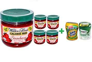 Walden Farms, Strawberry Fruit Spread, 12 oz (340 g) (5 PACK