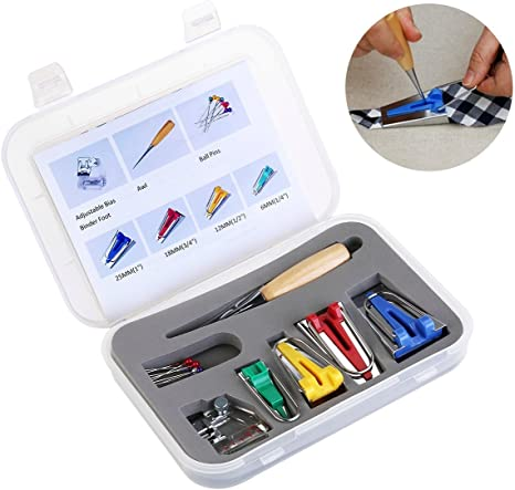 icase4u® Kit de 52 Piezas Multifuncional Prensatelas Accesorios ...