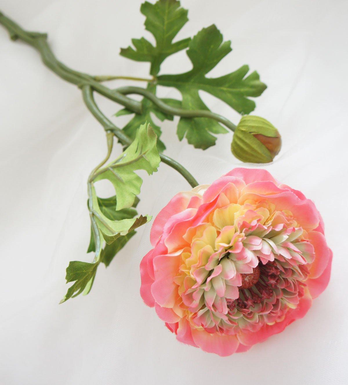 Lily-Garden-6-Stems-Silk-Ranunculus-Artificial-Flowers