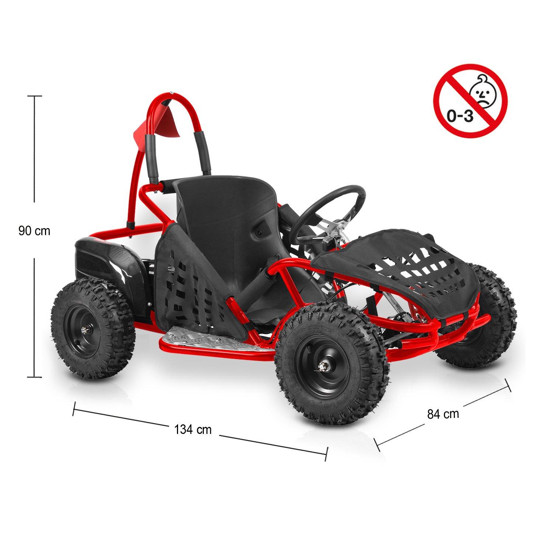 Hecht Elektro-GoKart 54812 Elektro-Buggy Incl. Netz (48 V / 1000 W ...