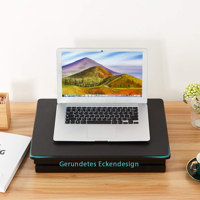 EPHEX Sitz-Steh-Schreibtisch Mechanismus Laptop Monitor Standtisch Ergonomischer H/öhenverstellbarer Aufsatz f/ür den Schreibtisch zum Arbeiten im Sitzen oder Stehen