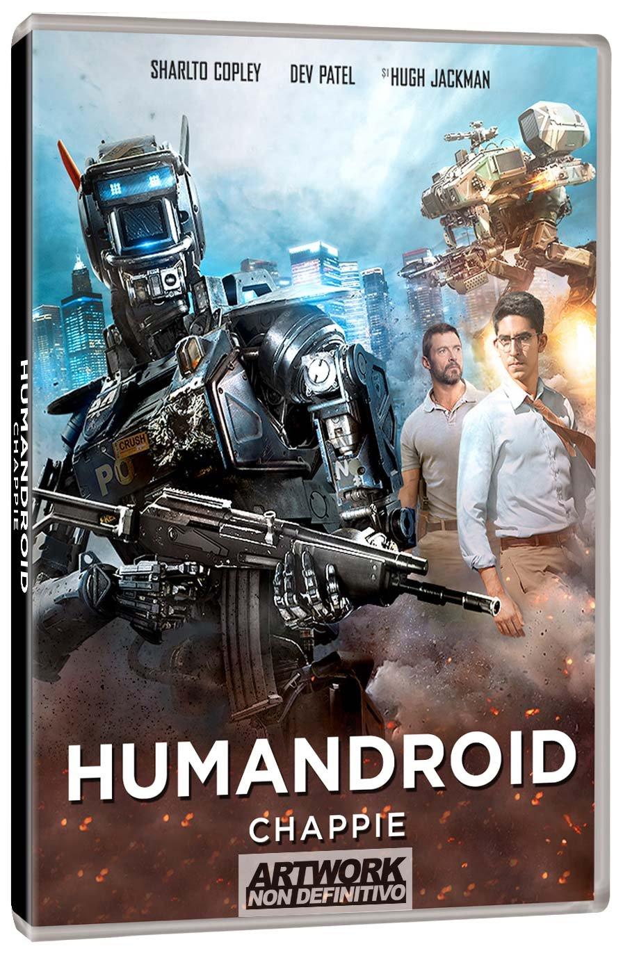 Humandroid - Chappie (Rental) [Italia] [DVD]: Amazon.es ...