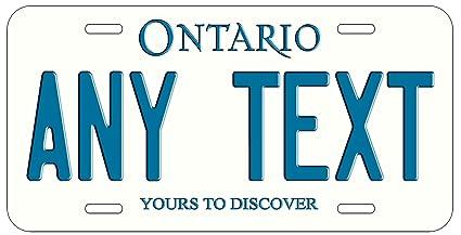 Amazon Com Top Craft Case Custom Personalized Ontario