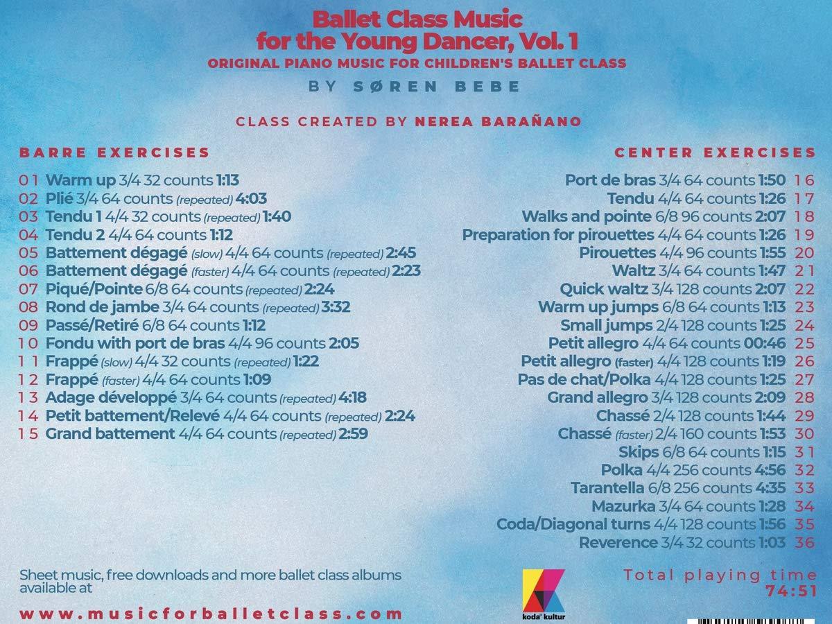Søren Bebe Søren Bebe Ballet Class Music For The Young Dancer Original Piano Music For Children S Ballet Class Amazon Com Music