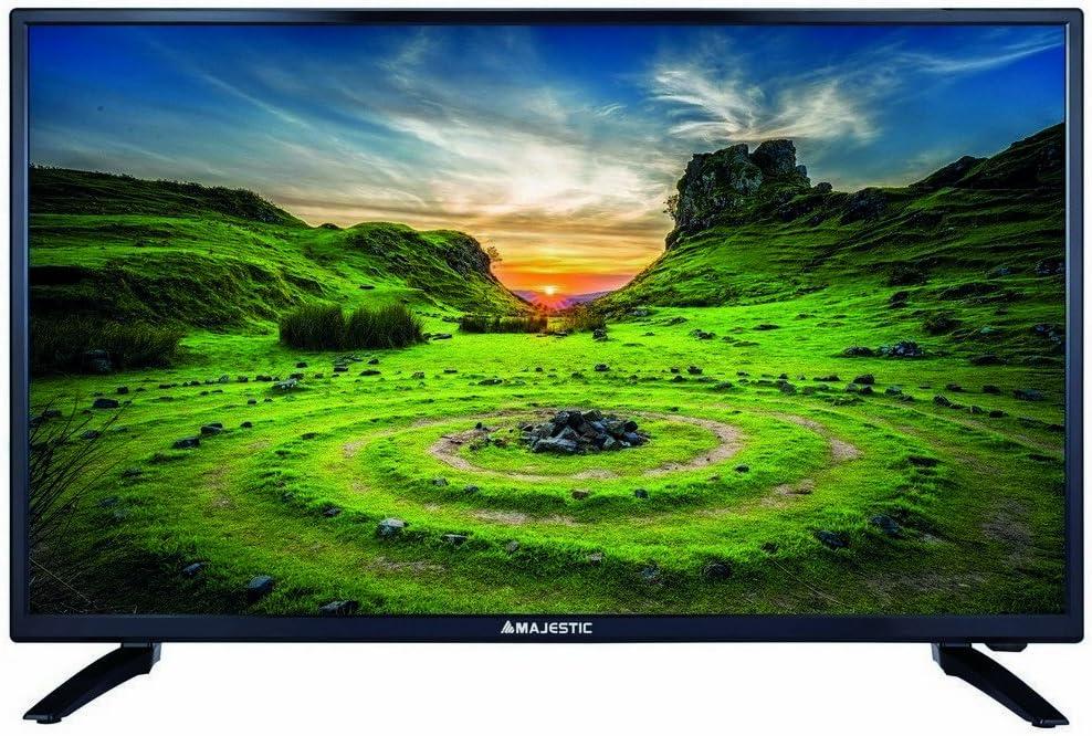 Majestic - Televisor TVD232/S2, LED MP09, de 32 pulgadas, HD, DVBT, T2, entrada y registro a través de USB: Amazon.es: Electrónica