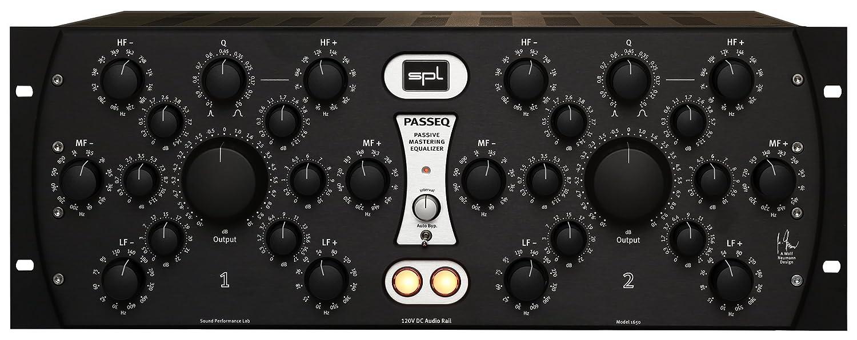 【国内正規品】SPL PASSEQ Model 1650 (Black) マスタリングパッシブイコライザー   B07BY2PZ3T