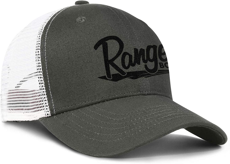 Cotton Baseball Cap Ranger-Boats Snapback Vintage Mesh Hats