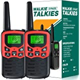 EKOOS Walkie Talkies Long Range for Kids and Adults Two Way Radios Up to 5 Miles in Open Areas with 22 Channels LCD…