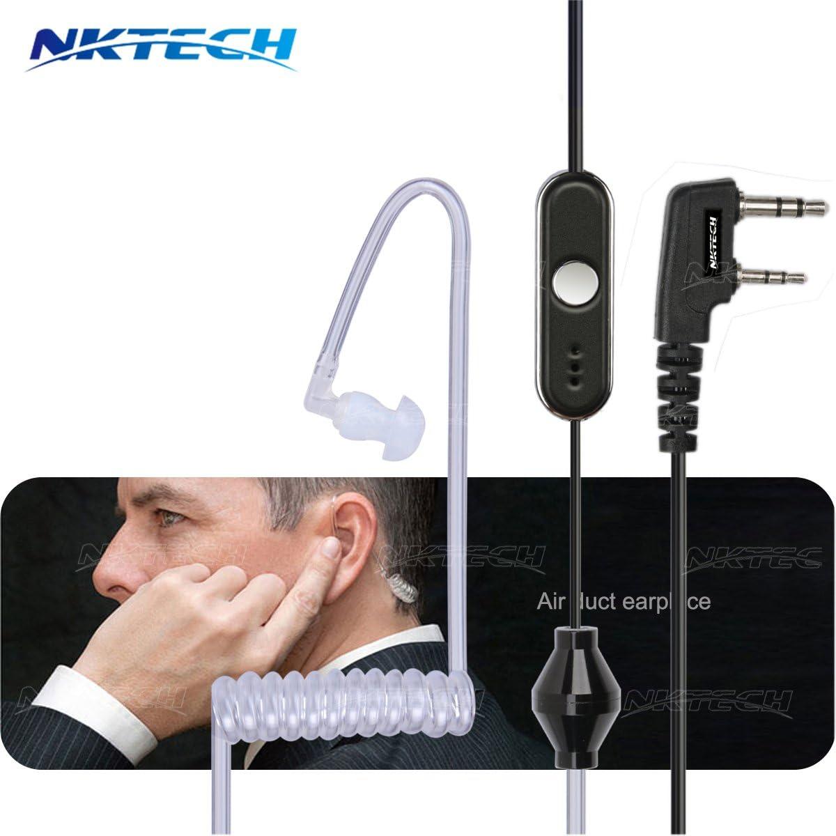 NKTECH NK-H1 Earpiece Headset For BaoFeng WOUXUN UV-5R Plus BF888S Two-Way Radio
