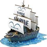 ワンピース 偉大なる船(グランドシップ)コレクション 海軍軍艦 (From TV animation ONE PIECE) 色分け済みプラモデル