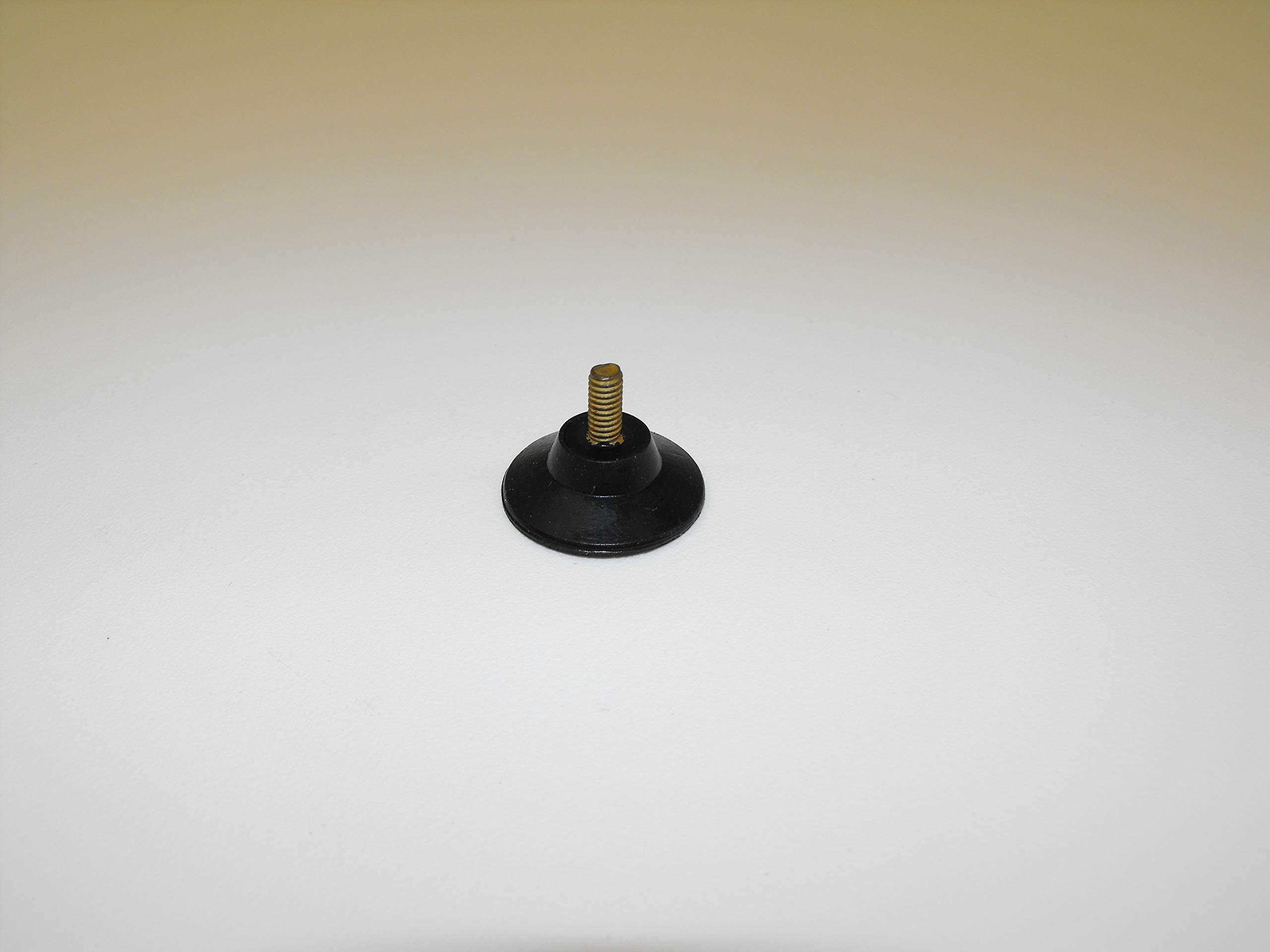 JL Missouri Parts 3/8'' #8-32 Screw in 1'' Rubber Suction Cup, 5/16'' Tall, Made in USA High Foot by JL Missouri Parts (Image #3)