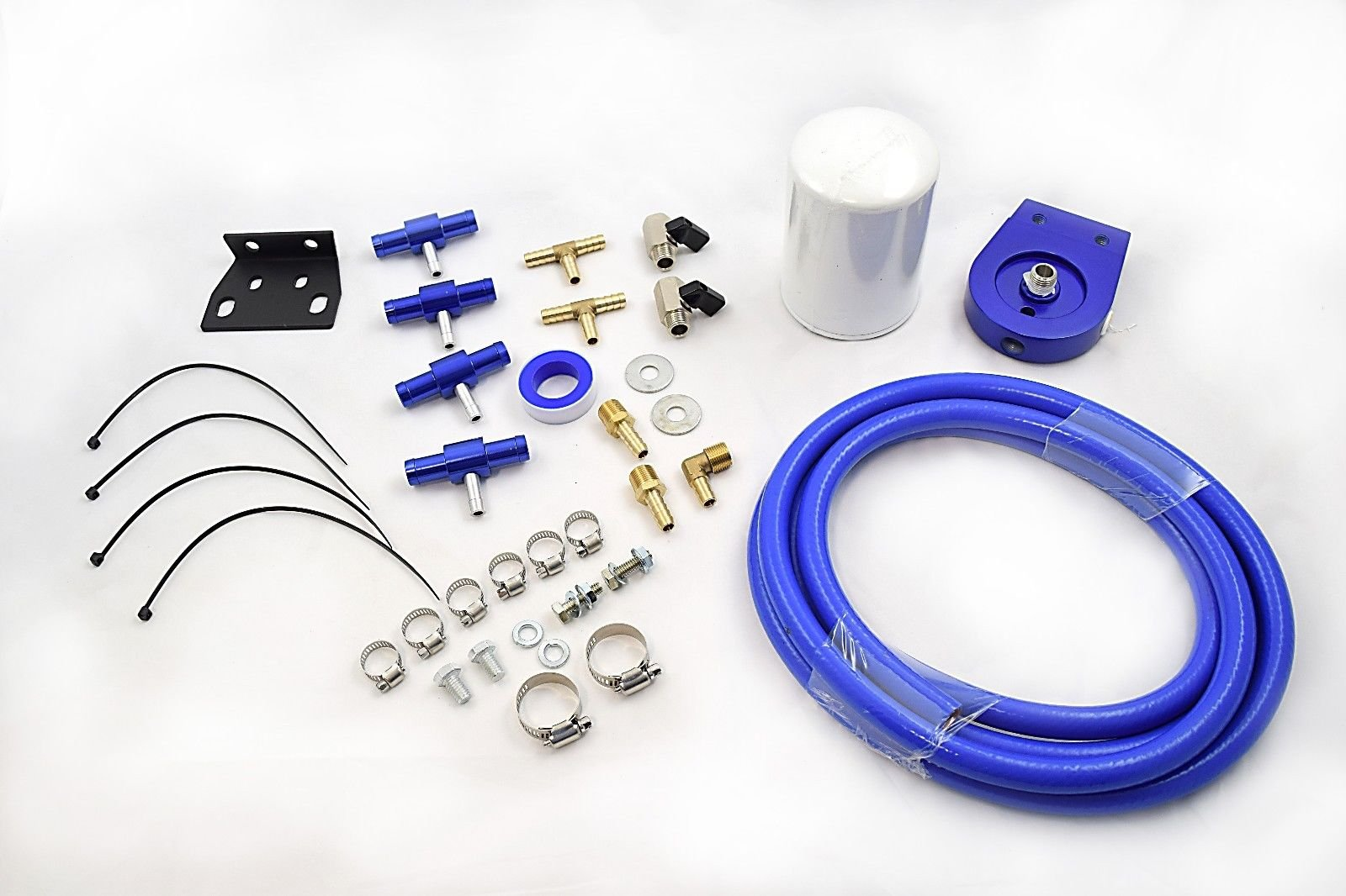 Universal Coolant Filtration Filter Kit For Ford Dodge Chevy GMC GM Jeep