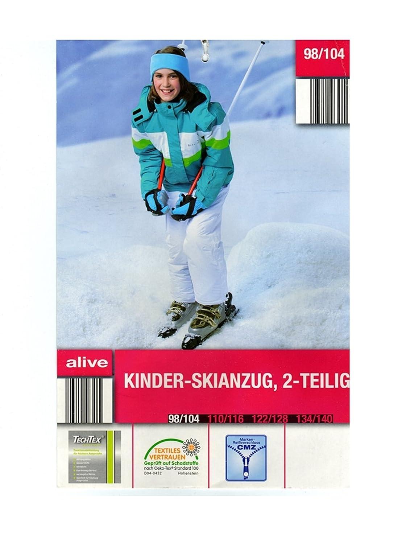Mädchen Skianzug Snowboardanzug Schneeanzug Jacke Hose Winter alive