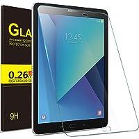 "IVSO Samsung Galaxy Tab S3 9.7 Cristal Templado Protector, Premium Protector de Pantalla de Vidrio Templado para Samsung Galaxy Tab S3 9.7"" Tablet (Tempered-Glass - 1 Pack)"