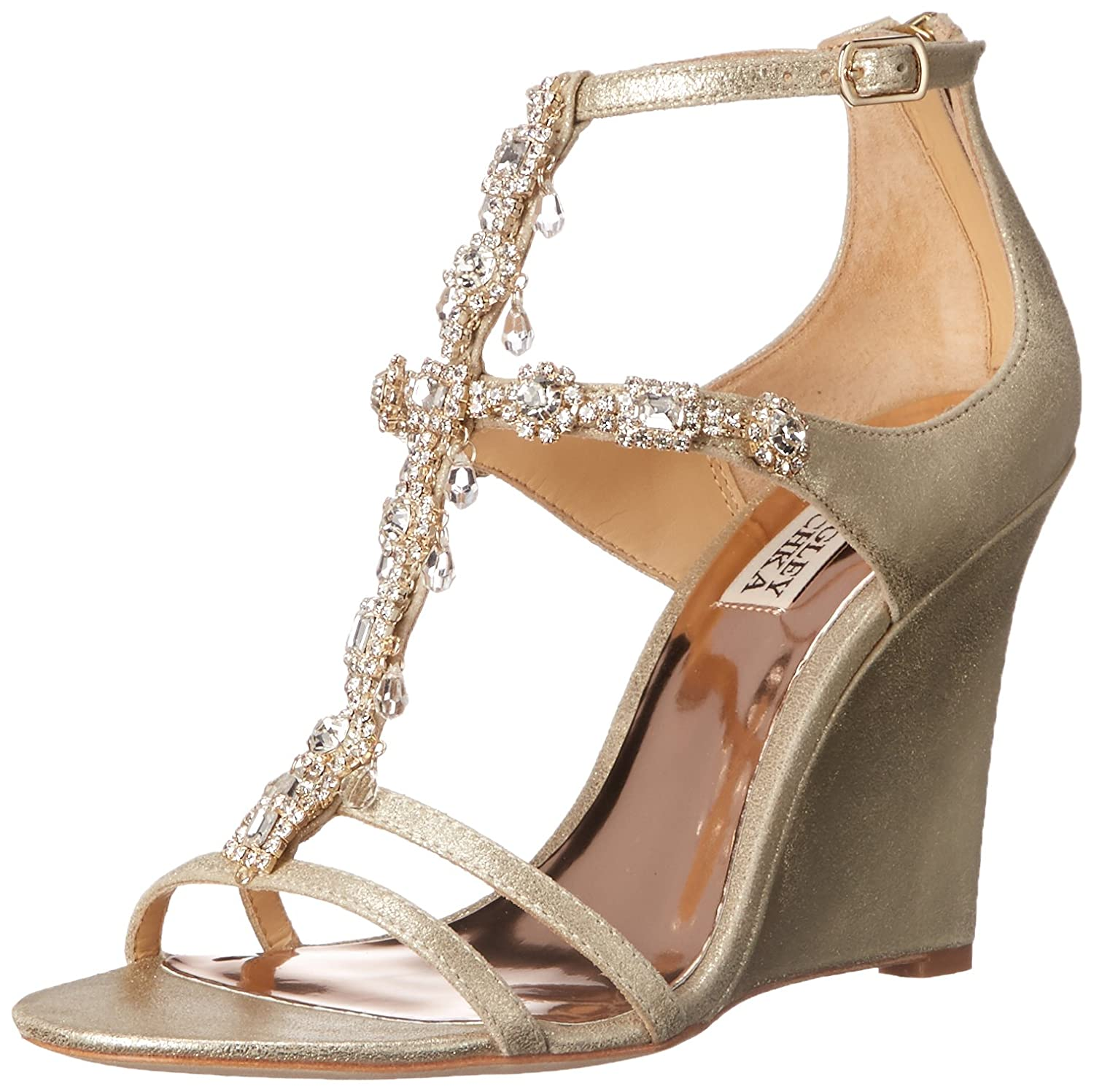 Badgley Mischka Women's Cashet II Wedge Sandal