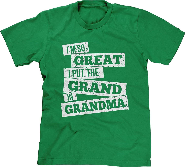 Blittzen Mens T-shirt I Put The Grand In Grandma