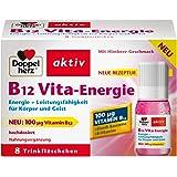 Doppelherz B12 Vita-Energie Trinkfläschchen | Energie und Leistungsfähigkeit für Körper und Geist | Vitamin B12 zur Verringerung von Müdigkeit und Erschöpfung | 8 x 10 ml Fläschchen