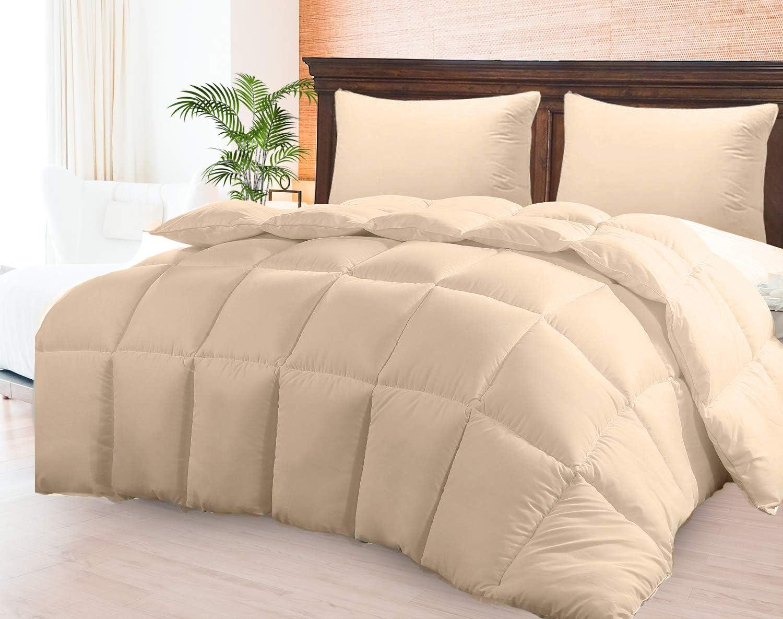 Dust /& Spore-Resistant Fibers Ideal for Allergies CGK Unlimited Comforter Duvet Insert Warm Lightweight /& Breathable Full Size Down Alternative Set Hotel Quality Bedding Lightweight Duvet