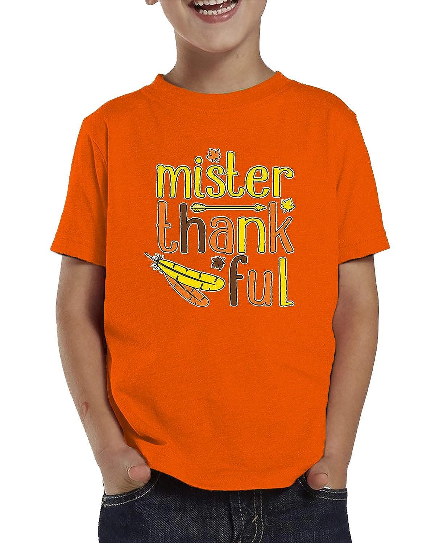 SpiritForged Apparel Mister Thankful Toddler T-Shirt