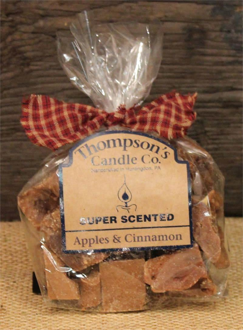 Thompson's Candle Co Super Scented Apples & Cinnamon Crumbles