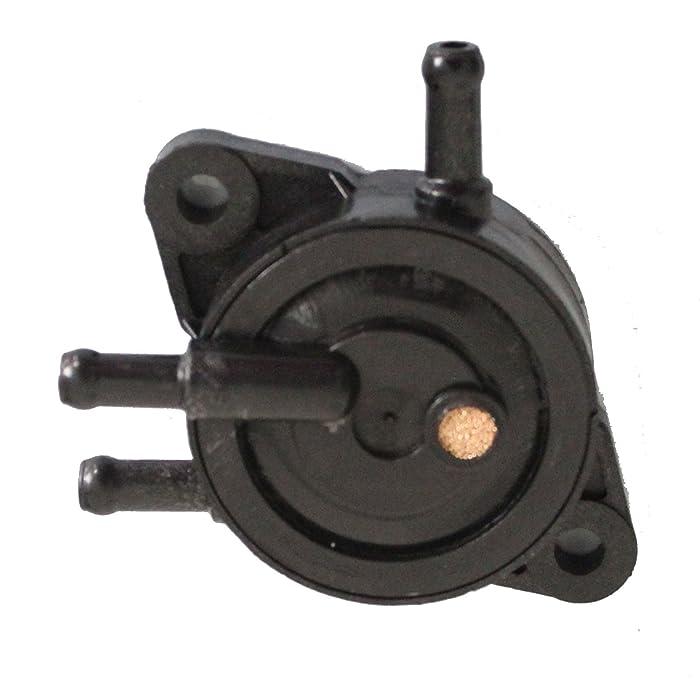 Holdwell Fuel Pump Replaces Kohler 24 393 16-S 2439316S Briggs & Stratton 808656 Kawasaki 49040-7001 John Deere LG808656 Briggs & Stratton 491922 John Deere M145667