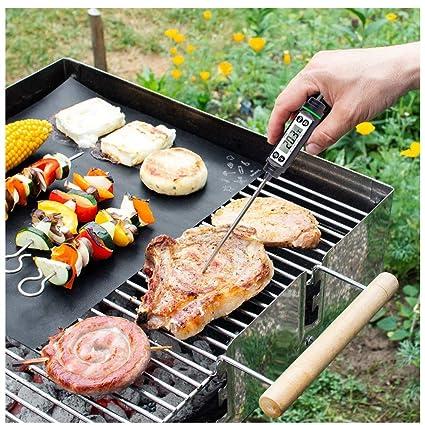 CHUDAN Parrilla de cocción termómetro de Carne, Termómetro ...