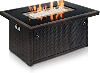 amazon best sellers best outdoor fire tables rh amazon com patio fire table set patio fire table cover