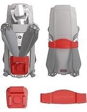O'woda Silicone Clip Propellers Fixator Props Transport Protector for DJI Mavic 2 Zoom & Pro Accessories (Red)