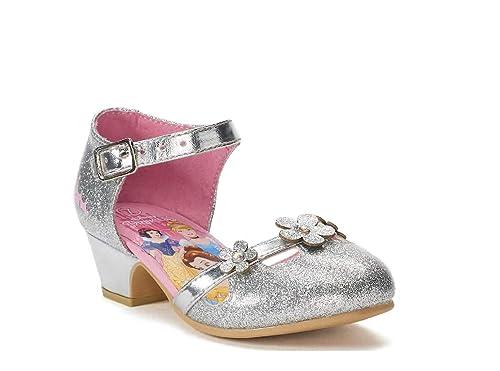 2d58ab8b4d5 Disney Princess Toddler Girls  High Heels Dress Shoes ...