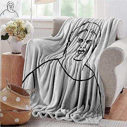 Super Amazon Com Xavieradoherty Bed Blankethumor Chubby Guy Dailytribune Chair Design For Home Dailytribuneorg