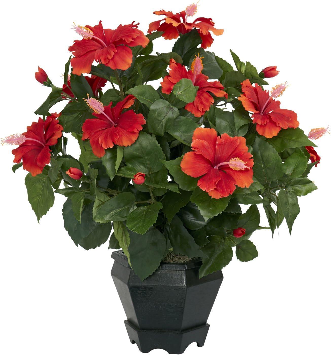 Hibiscus artificial plant