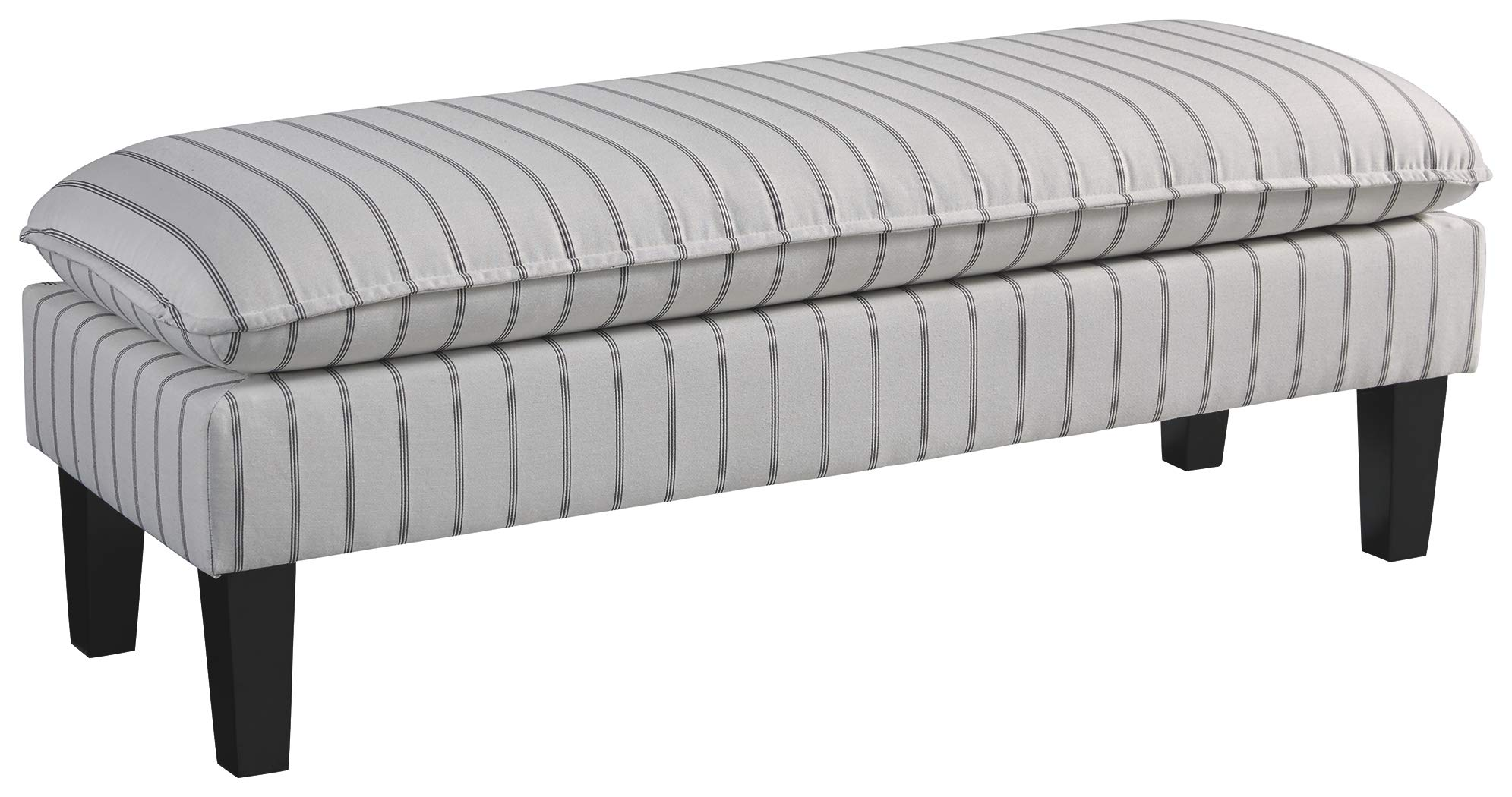 Ashley Furniture Signature Design - Arrowrock Accent Bench - Traditional - Light Beige by Signature Design by Ashley