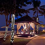 IMAGE 8 Modes Solar Rope Lights Outdoor String