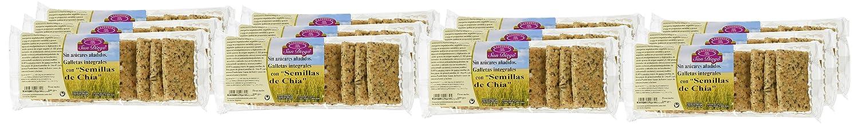 Productos San Diego Galletas Integrales con Semillas de Chía - Paquete de 12 x 100 gr - Total: 1200 gr: Amazon.es: Alimentación y bebidas