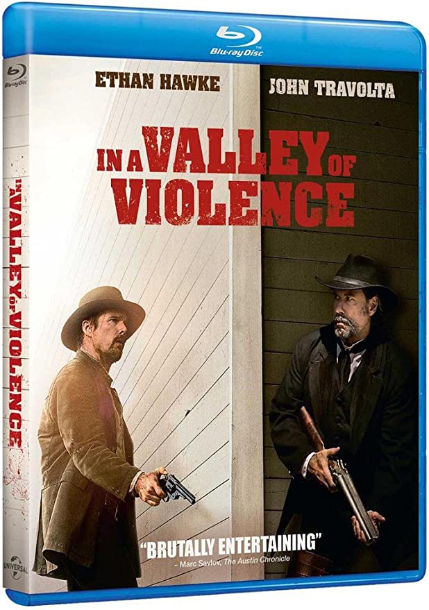 In a Valley of Violence [Blu ray]: : Ethan Hawke