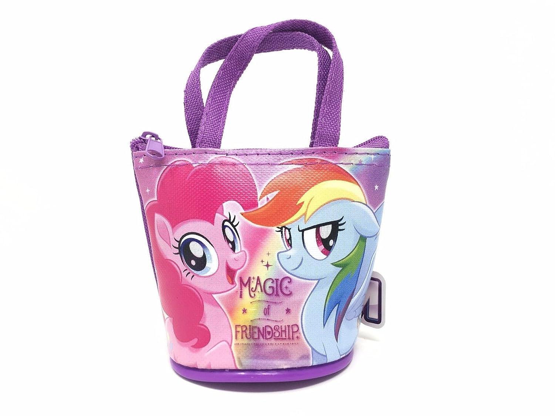 My Little Pony 4 Family Disney Licensed Small Handbag Purse Wallet Coin Bag