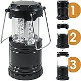 Comforday LEDキャンピングライト (ブラック) / 電球寿命50,000時間・アウトドア・燃料不使用防災グッズとしても最適