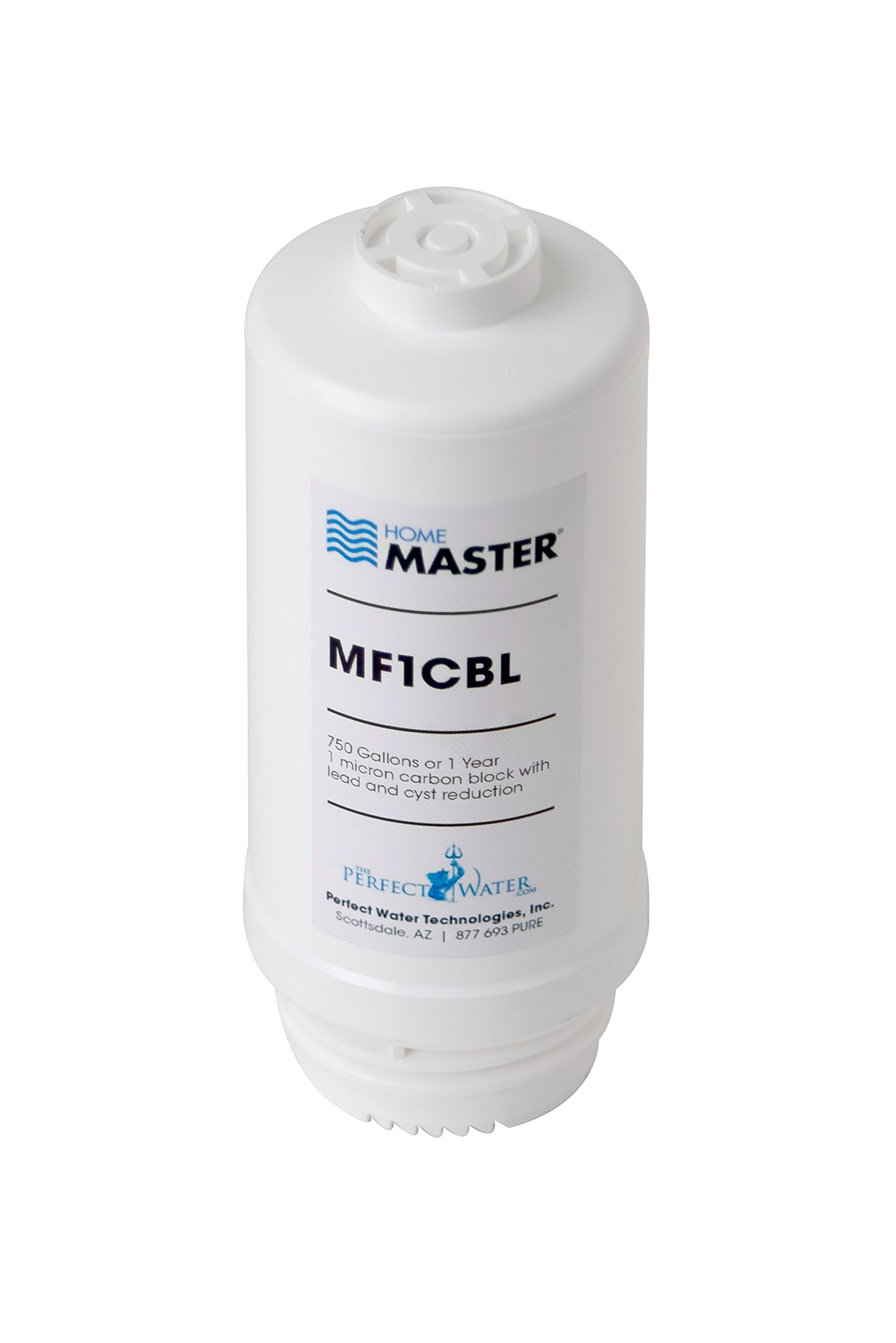 Home Master MF1CBL Mini Plus Replacement Filter, White