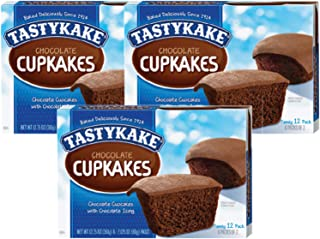 product image for Tastykake Cupkakes in Your Choice of Four Varieties Family Size 12 Pack- A Philadelphia Baking Institution (Chocolate, 3 Pack)