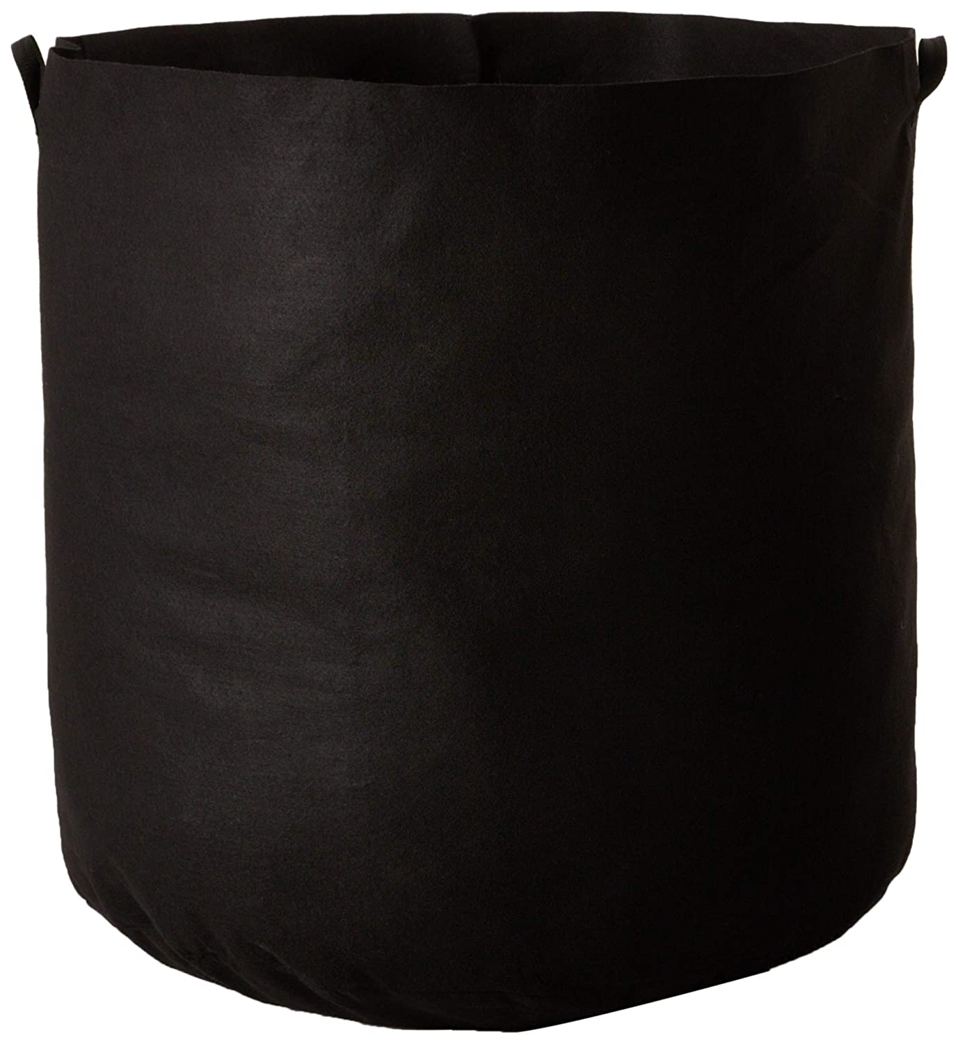 Hydro Crunch 100 Gallons Grow Bag Fabric Aeration Pots Container with Strap Handles, Black