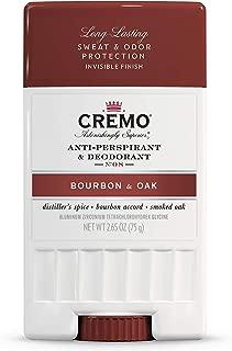 product image for Cremo Bourbon & Oak Anti-Perspirant & Deodorant, 2.65 Oz, 1 Ounce