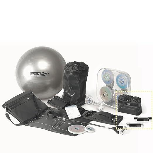 Technogym Wellness Weights - Pesas de 1 kg para Fitness, Color Plateado: Amazon.es: Deportes y aire libre