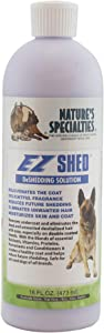 Nature's Specialties EZ Shed Conditioner for Pets